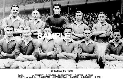 Chelsea FC 1946 Team Photo