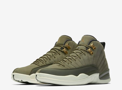 newest 122d8 e7566 Nike Air Jordan 12 XII Rétro Cp3 Olive Class Of 2003 130690 301 Homme  Tailles