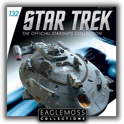 Star Trek Eaglemoss 132 Warship Voyager Raumschiff Sammlung Starship Collection