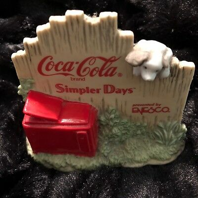 Coca-Cola Simpler Days 1998 Coke Signage #558745