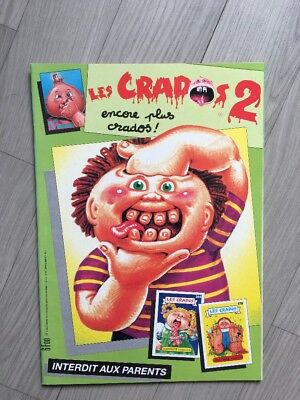 Original Album Empty Near Mint Condition La Bande Des Crados Série 2