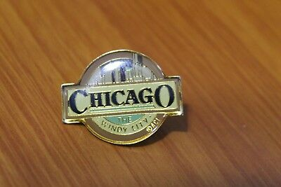 Chicago The Windy City Lapel Pin