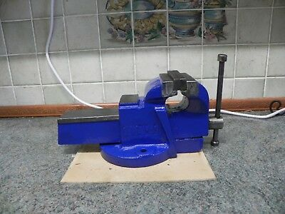 "4"" 100mm Jaw Bench Vice Workshop Work Bench Table Engineer"