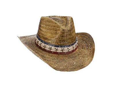 8b861331c8b26 MENS DORFMAN PACIFIC Rush Straw Outback Hat Size L XL MS422 -  14.00 ...