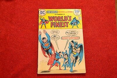 A Steal! Worlds Finest Comics - #202, #219, #221, & #223 - Fill Your Collection!
