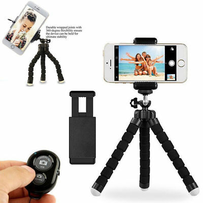 Mini Flexible Tripod for Phone iPhone Stand with Bluetooth Remote Camera Shutter