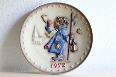 Goebel Hummel Collectible Annual Plate 1972