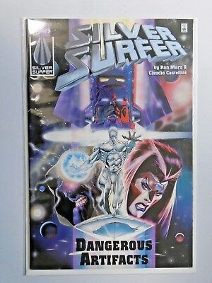 Silver Surfer Dangerous Artifacts #1 - see pics - 8.5 - 1996