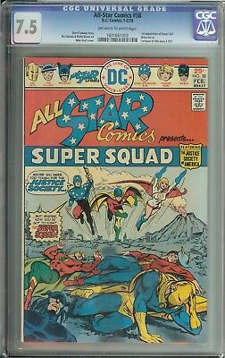 All Star Comics #58 Cgc 7.5 1St App Power Girl Karz Zor-L
