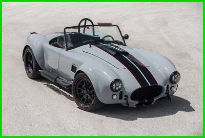 1965 Shelby Cobra (Backdraft Racing) 5.0 Coyote New Build, Avalanche Grey, 5.0 Coyote Engine, Financing Available!!