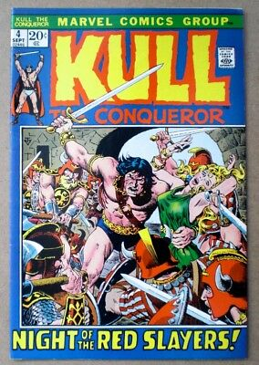 KULL THE CONQUEROR Marvel Vol.1 No. 4 September 1972 Night of the Red Slayers
