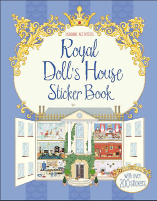 "Usborne Activities ""royal Dollhouse Sticker Book** New"