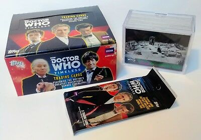 Topps DOCTOR WHO Timeless - GREEN PARALLEL Complete 100 Card Chase Set 2016