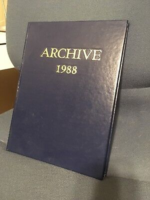 "Saint Louis University ""Archive"" Yearbook 1988"
