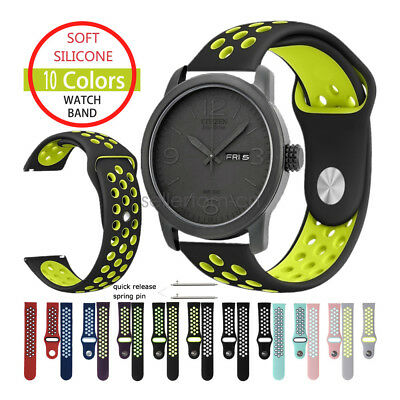 Silicone Sport Watch Band Strap For Citizen Men's Eco-Drive Watch BM8475-26E