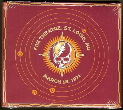 Grateful Dead 30 Trips Around the Sun  3/18 1971 Fox Theatre St. Louis BRAND NEW