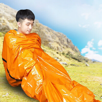 Outdoor Emergency Sleeping Bag Warm Waterproof Survival Camping Travel Portable