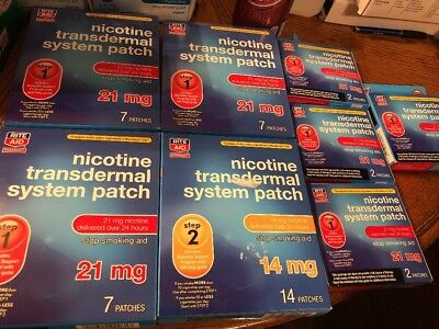 Nicotine Transcendental System Patch 21 mg 29 patches & 14 mg 14 Patches 2019+