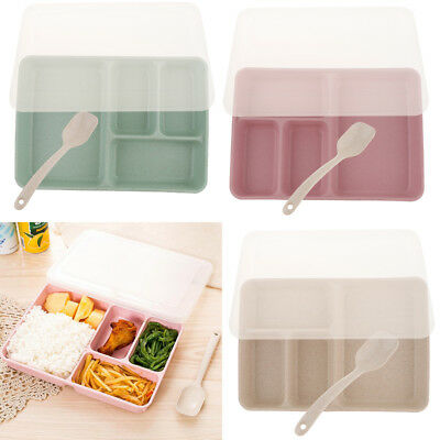 Portable Lunch Box Food Fruit Cookies Container Kids Outdoor Office School