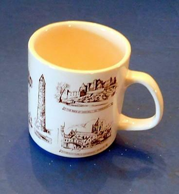 8 Irish Landmarks On Souvenir Mug Made In Ireland