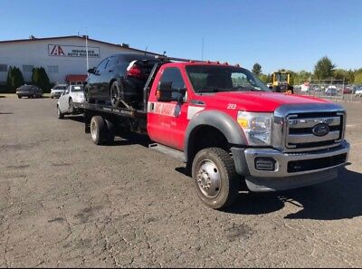 tow truck rollback ford 2012 F550