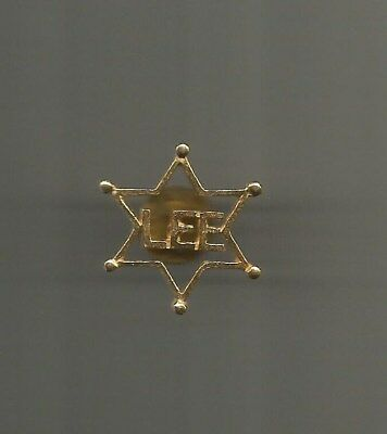 1980's Sheriff Harry Lee Jefferson Parish Louisiana Clutch-Back Lapel Pin