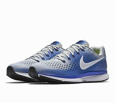 4d956e162daca NIKE AIR ZOOM Pegasus 34 Mens Running Shoes Wolf Grey Racer Blue
