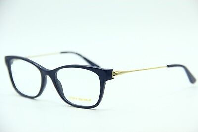 0b12670f35 New Tory Burch Ty 2063 1520 Blue Eyeglasses Authentic Frame Rx Ty2063 51-18