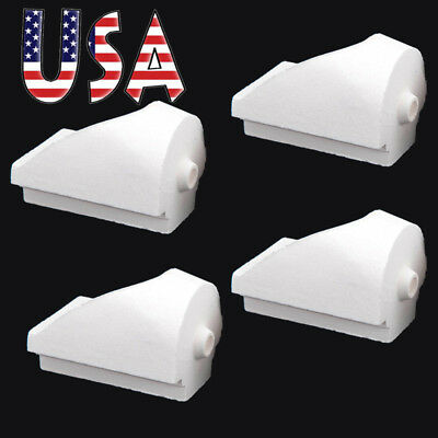 4pc Dental Lab Jewelry Materials Casting Centrifugal Quartz Crucible Hooded Type