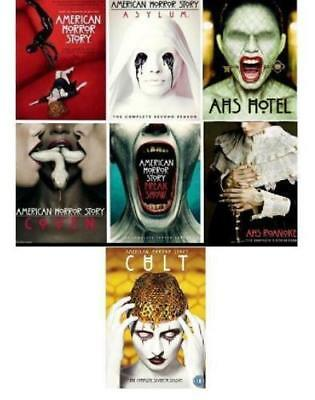 American Horror Story: Complete Series Season 1-7 (DVD, 26-Disc Set)