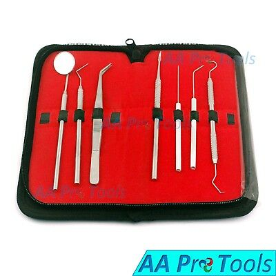 Dental Oral Hygiene Kit 7 Tools Deep Cleaning Scaler Teeth Care Set