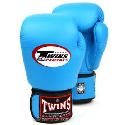 Twins Special Bgvl-3 Light Blue 16oz Muay Thai/ Boxing Gloves