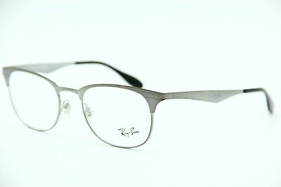 f0fb3bddfd New Ray-Ban Rb 6346 2553 Gunmetal Eyeglasses Authentic Frame Rx Rb6346 52-19