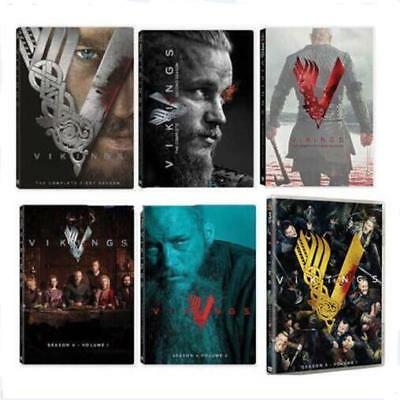 Vikings: The Complete Series Seasons 1-5 6(DVD, 2017,18-Disc Box Set)1 2 3 4 5
