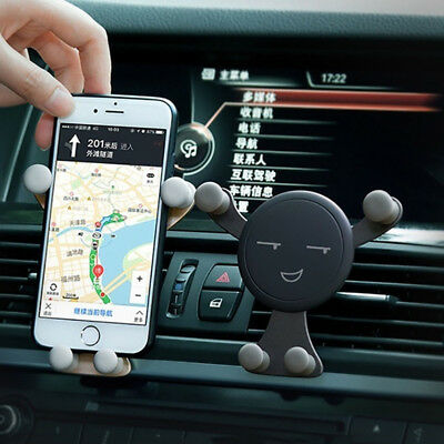 No Magnetic Car Accessories Universal Mobile Phone Holder Car Air Vent Holder