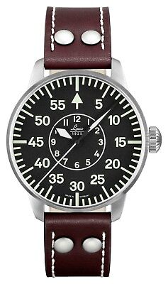 LACO Basis Aachen 42 Automatik Saphirglas Fliegeruhr 861690.2 - Made in Germany