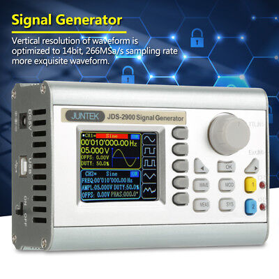 JDS2900 15~60MHz DDS Signal Generator Counter Digital Sine Frequency 2 Channel