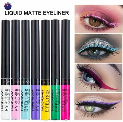 Eye Makeup Bright Colorful Matte Liquid lasting Eye Eyeliner Shadow Eyeshadow