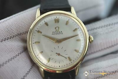 Serviced Vintage Omega F6212 14k Gold Filled 344 Bumper Automatic Watch