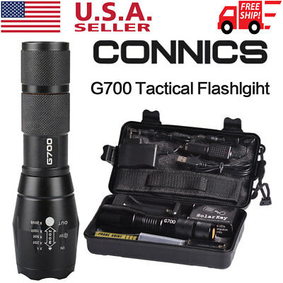 Tactical 20000lm Genuine X800 Flashlight L2 LED Military Tactical Torch 18650