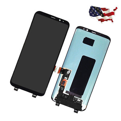 Black Display LCD Touch Screen Digitizer Replacement for Samsung Galaxy S9 G960