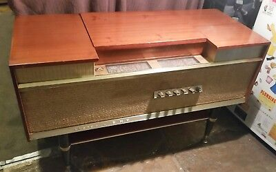 Mid Century 1960s HMV CAPRICE RADIOGRAM Stereo Record Player Furniture