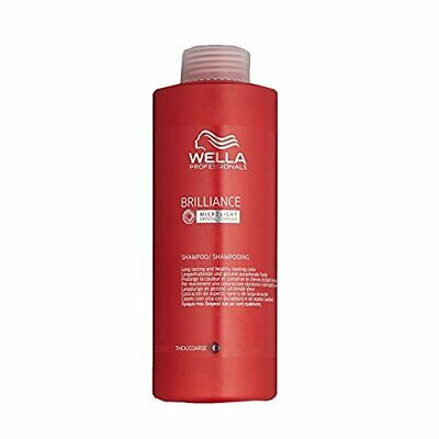Wella Brilliance Coarse Shampoo 1000 ml