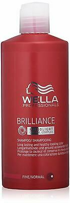 Wella Professionals Brilliance fine/normal Shampoo 500 ml