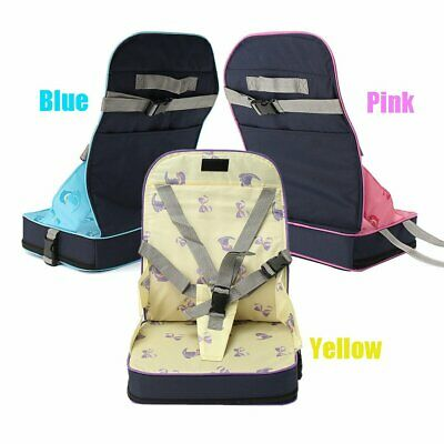 Baby Dinning Booster Seat Travel High Chair Light Weight Portable Foldable Seat