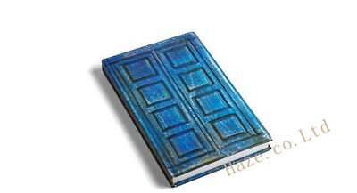 Doctor Who Blue Hard Cover Notebook River Song's TARDIS Journal Diary Notebook