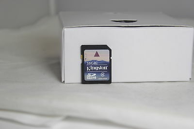 Kingston 16GB SDHC  SD card for lens and camera