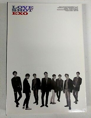Exo - Love Shot (Repackage) Shot Ver. CD+Booklet+Photocard+Poster New