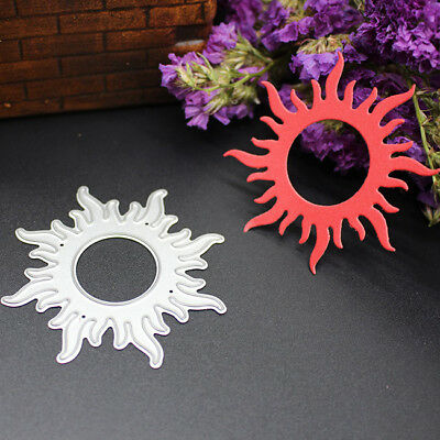 Hollow Round Sun Shape Cutting Dies For Stencil DIY Embossing Scrapbooking one