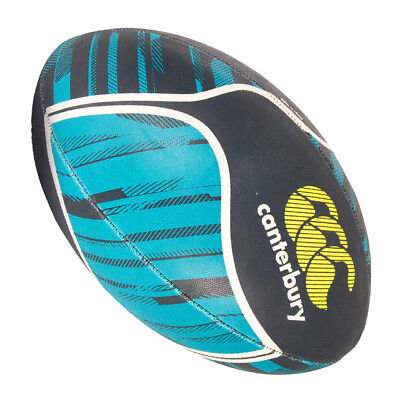 Canterbury Thrillseeker Print Rugby League Union Ball Navy/Sea Green - 5